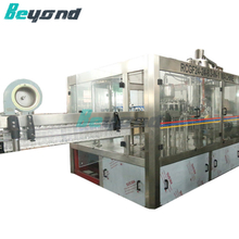 Beyond 3 in1 Carbonated Filling Machine PLC Control 8000bph [CGFD24-24-8]
