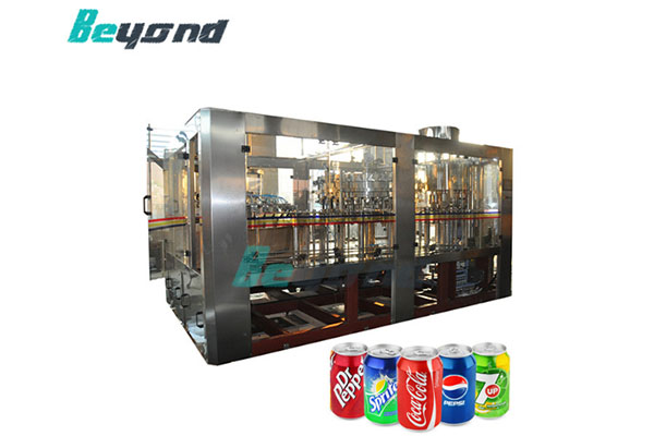 carbonated water filling machine