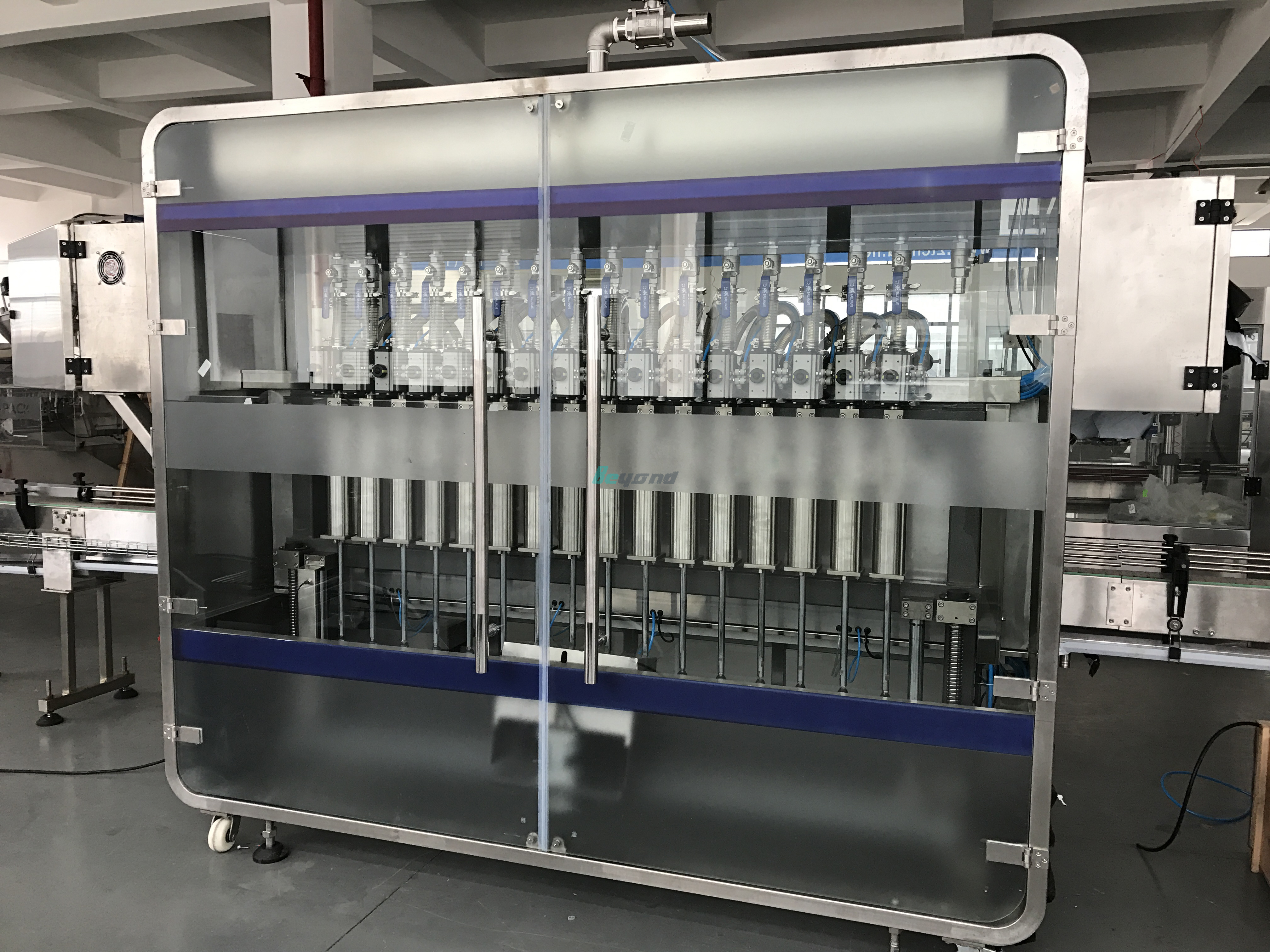 Automatic Disinfectant Fluid Filling Capping Machine