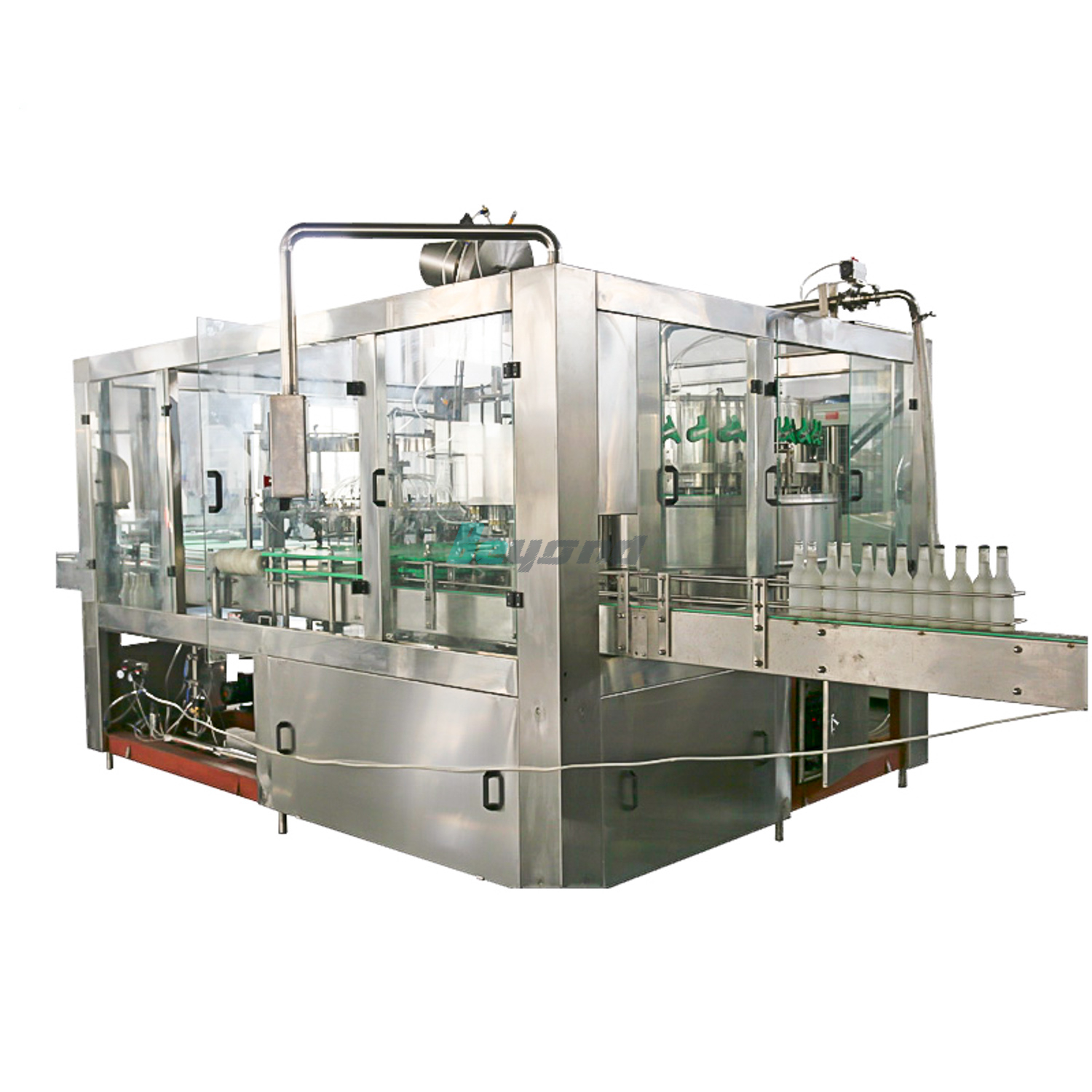 Beyond Water Filling Machine for Glass Bottle BCGF16-12-6