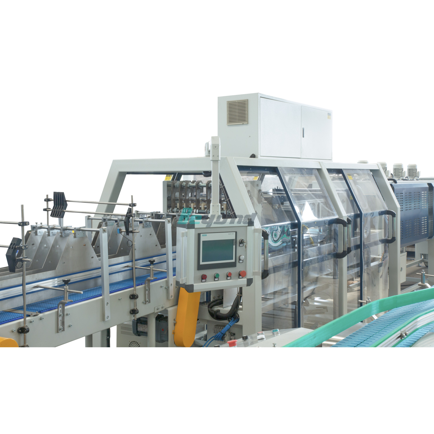 Beyond Semi Auto Pe Film Shrink Wrapping Machine