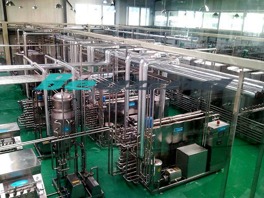 PET Bottle Aseptic Cold Filling Production Line